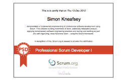 How To Pass PSD Scrum.org
