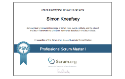 How To Pass PSM I Scrum.org