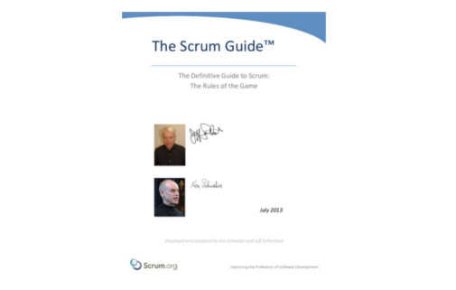 The Scrum Guide Update 2016