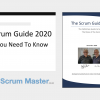 Scrum Guide 2020 Update Course Live Virtual (14:00-17:30 London, UK time) 17th February 2021