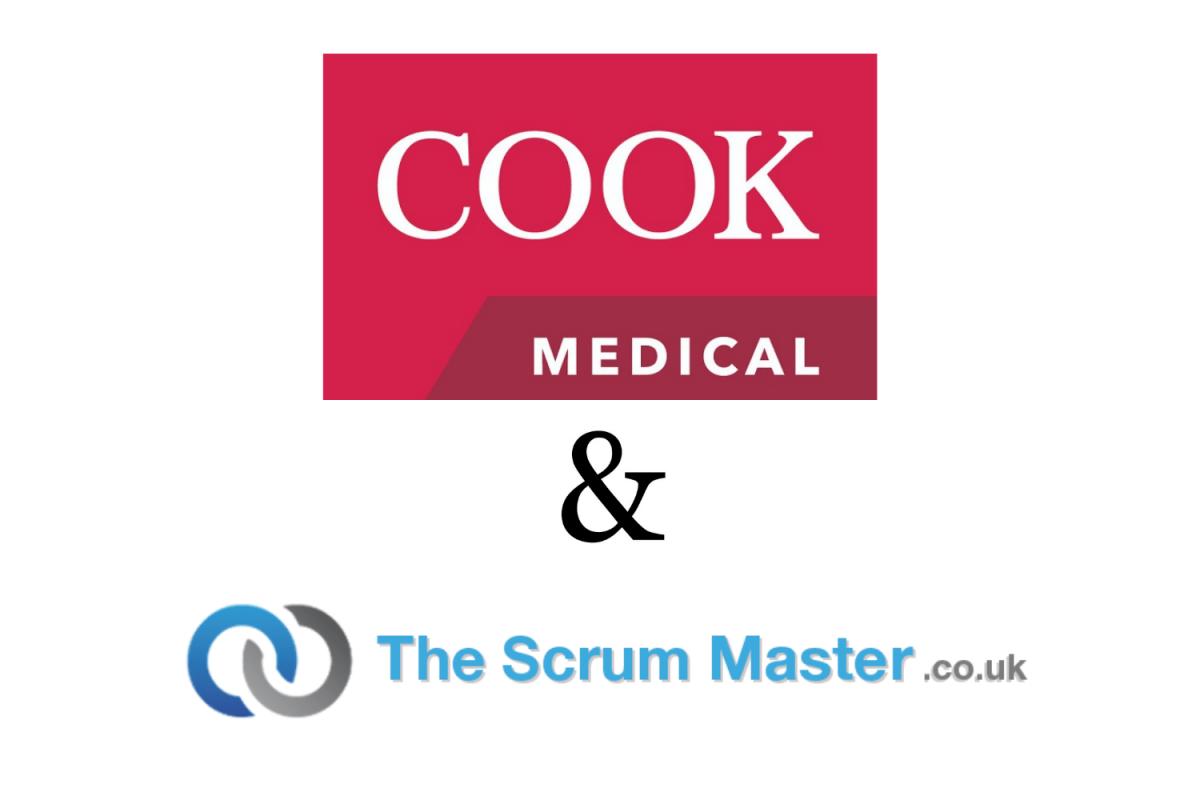 Cook Medical & TheScrumMaster.co.uk