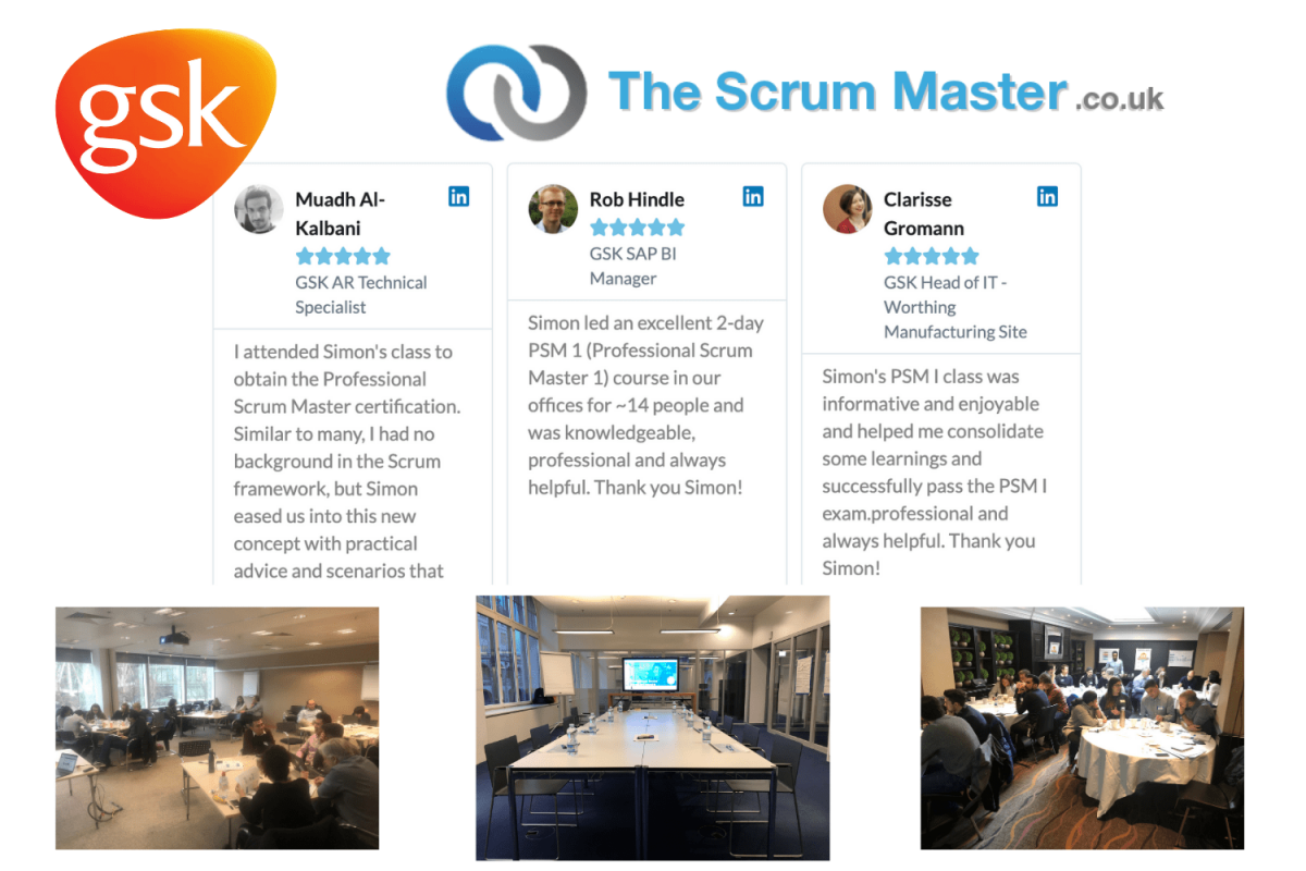 GSK & TheScrumMaster.co.uk