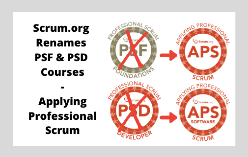 Applying Professional Scrum - The New Name For Professional Scrum Foundations