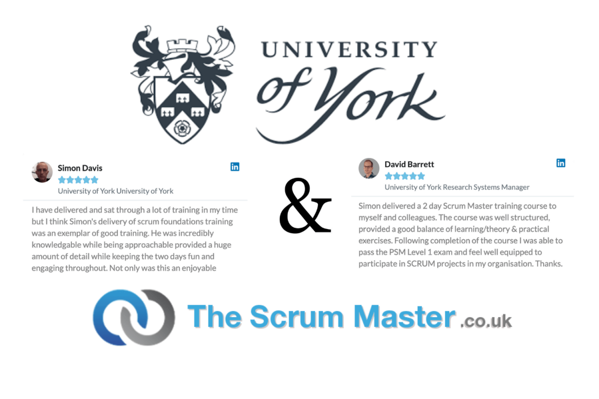 University Of York & TheScrumMaster.co.uk