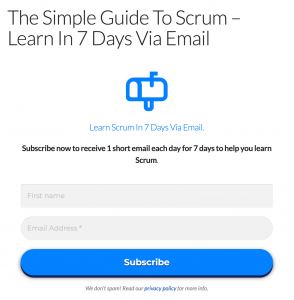 The Simple Guide To Scrum - Learn Via Email In 7 Days - TheScrumMaster.co.ukTheScrumMaster.co.uk
