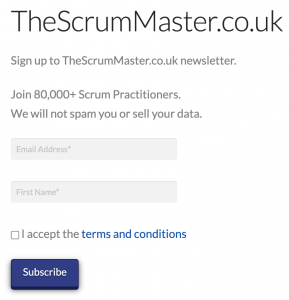 The Simple Guide To Scrum - Newsletter - TheScrumMaster.co.uk