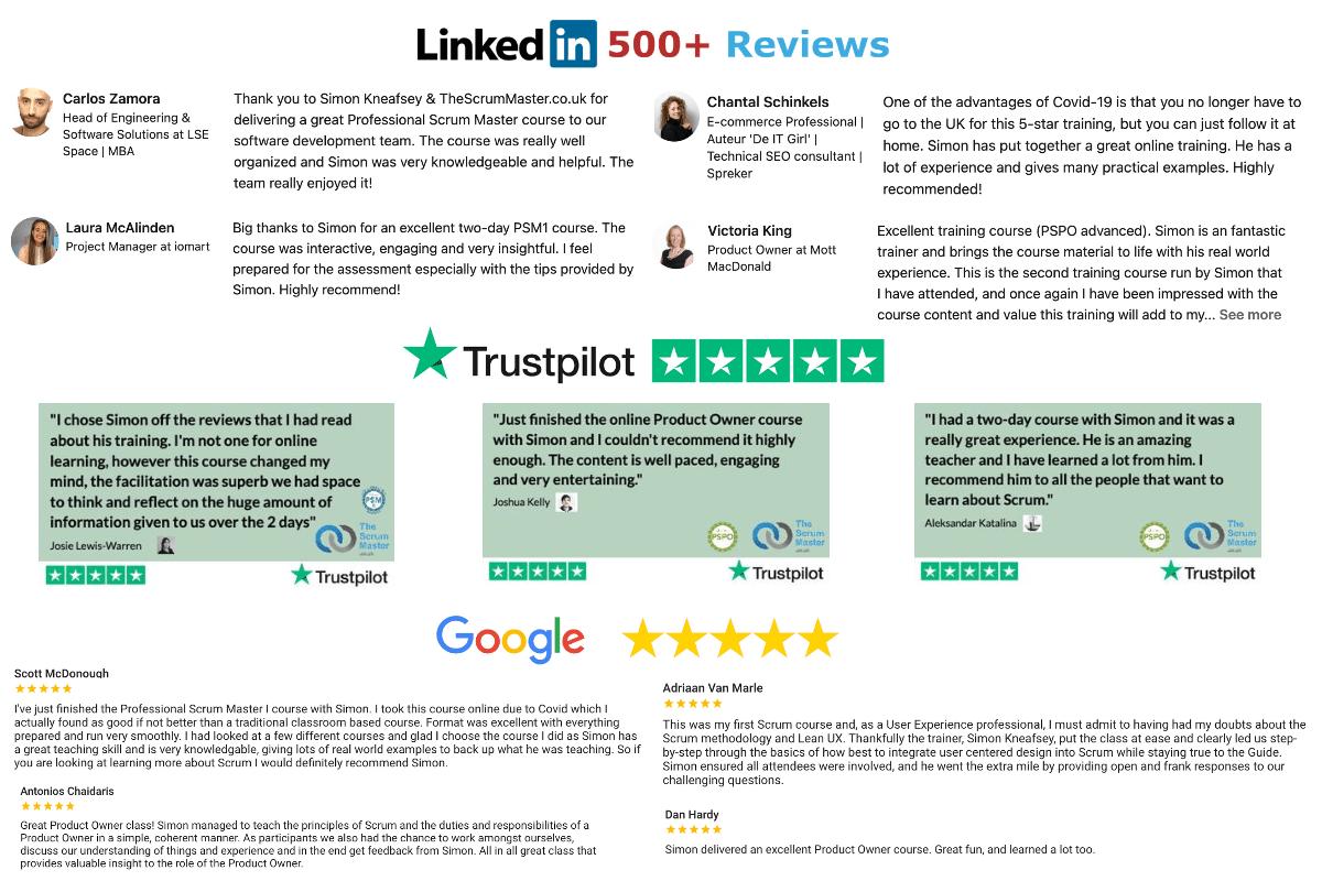TheScrumMaster.co.uk Reviews